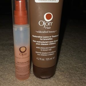 Ojon Hair Leave in treatment for brunettes